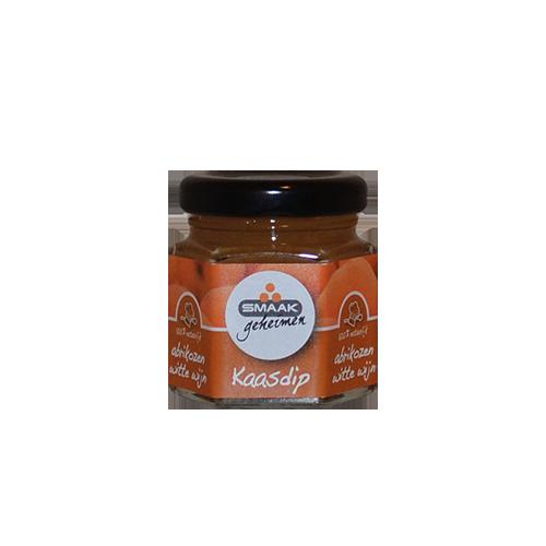 Smaakgeheimen kaasdip mini abrikozen witte wijn 45ml