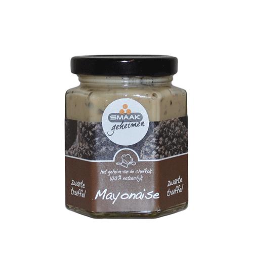 Smaakgeheimen mayonaise zwarte truffel 190ml