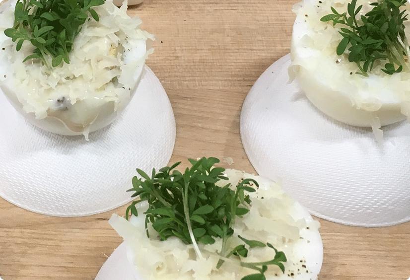 Smaakgeheimen recepten topping eitje truffel