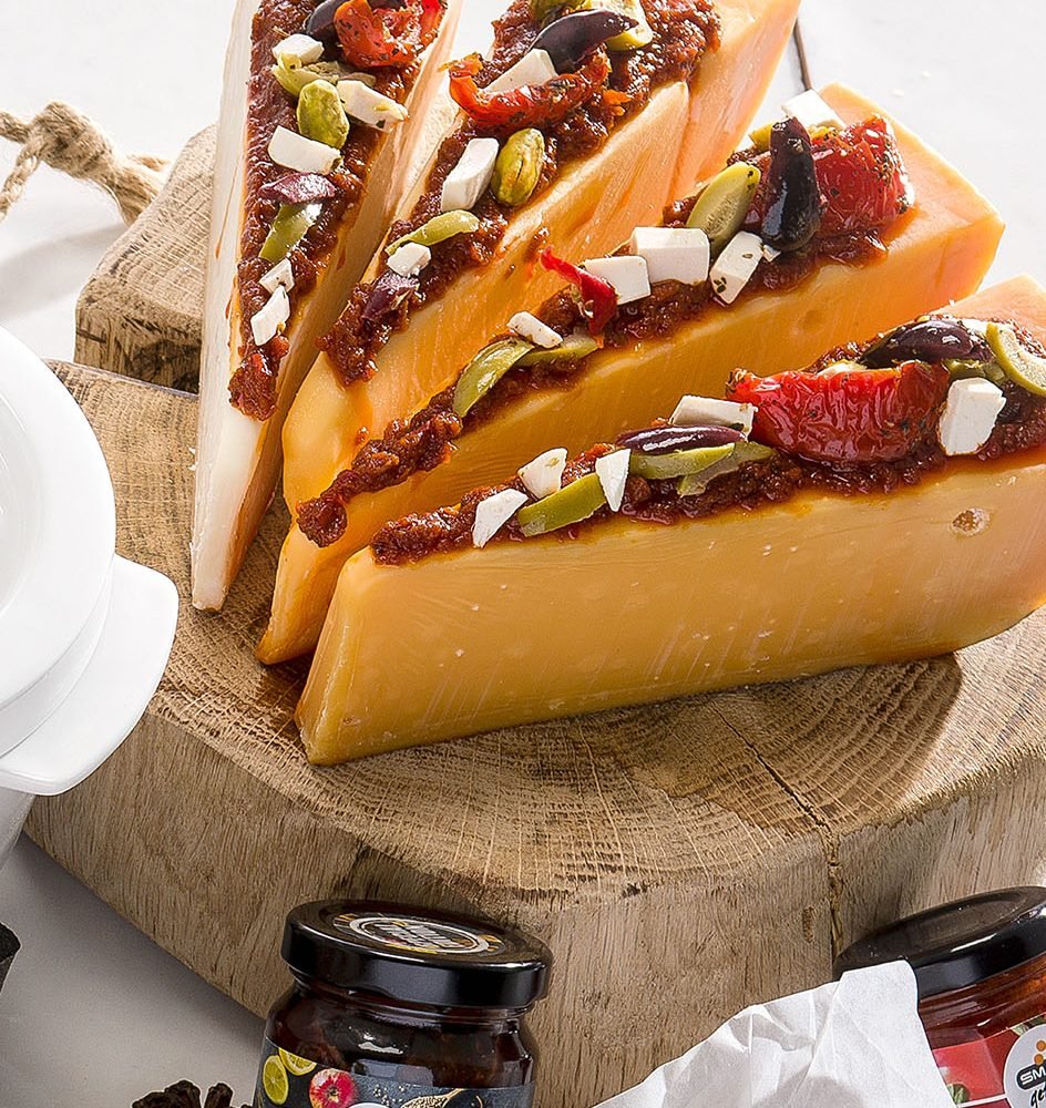 Smaakgeheimen mediterrane harde kaas