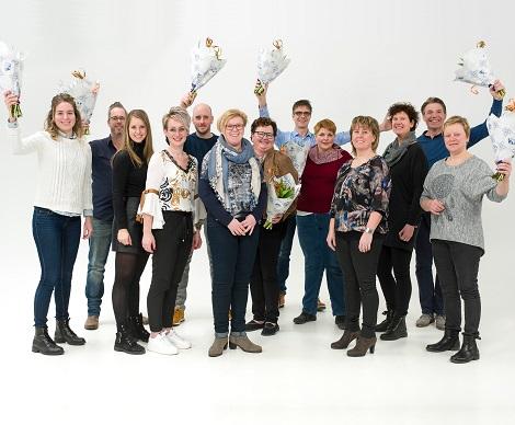 Teamfoto Op Smaak 2018