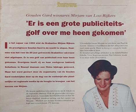 Miriam media aandacht - publiciteit