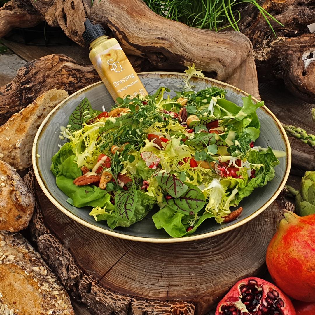 Smaakgeheimen salade BBQ